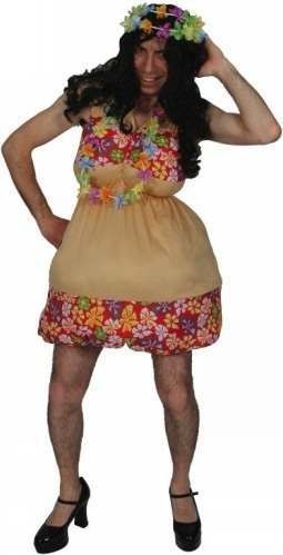 Hot Hula Honey Fancy Dress