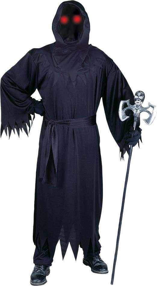 Mens F/World Unknown Phantom Halloween Outfit - One Size (Black)