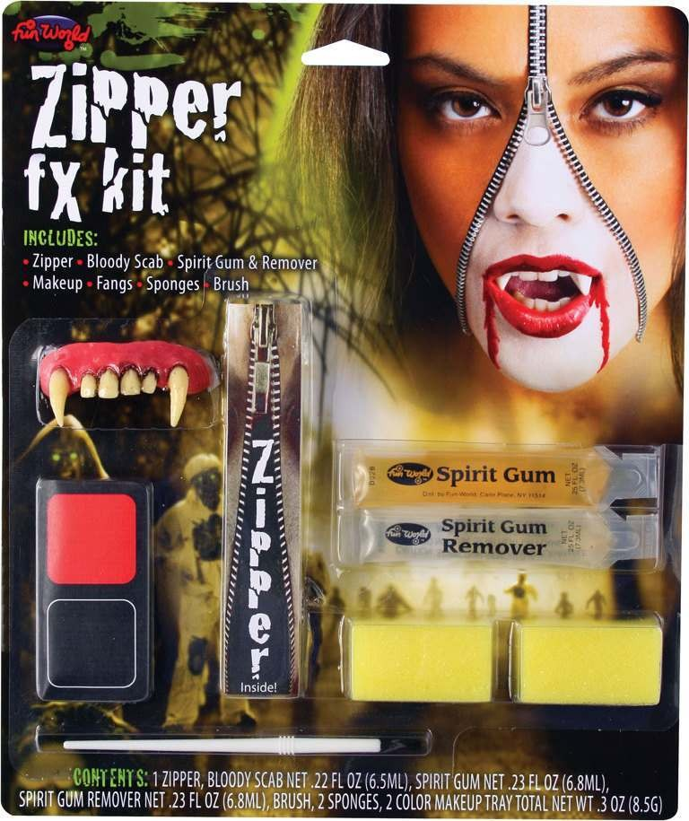 Mens Deluxe Zipper Fx Kit - Vampire Other