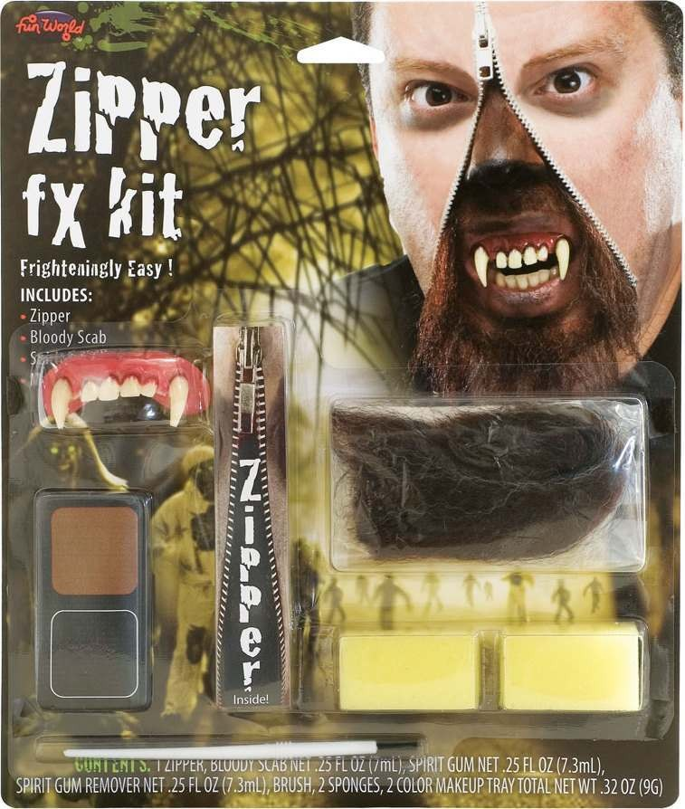 Mens Deluxe Zipper Fx Kit - Warewolf Other