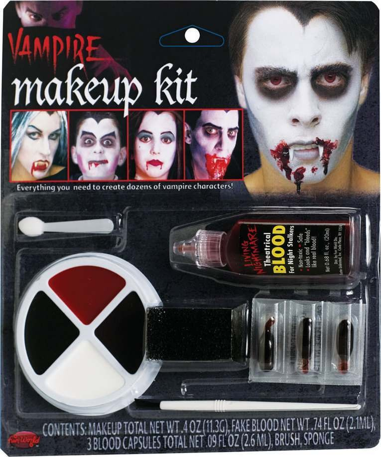 Adult Unisex Vampire Makeup Kit Makeup