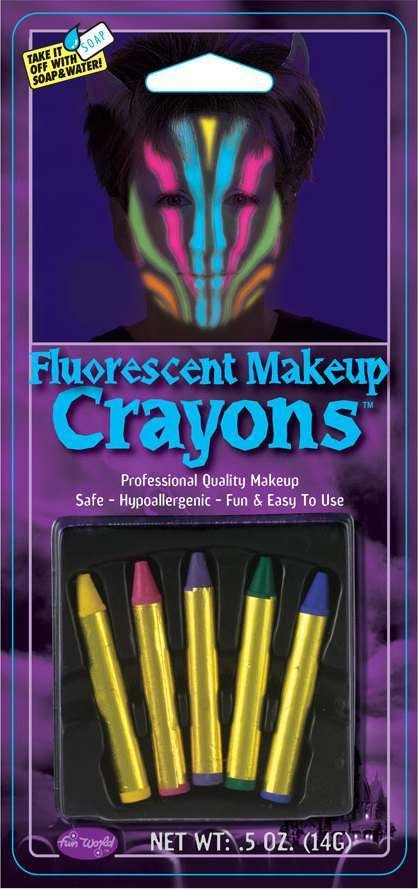 F/World Florescent Makeup Crayons Other