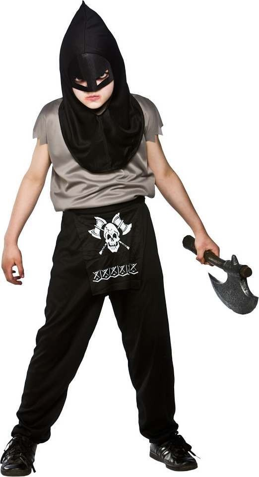 Boys Executioner Halloween Outfit - (Black)