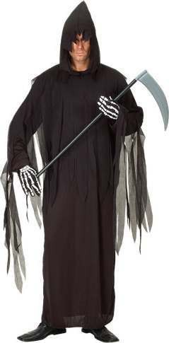 Grim Reaper One Size Halloween Outfit - One Size