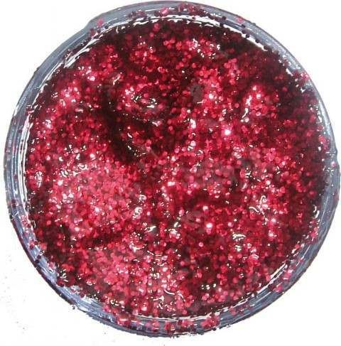 Glitter Gel - Crimson 12Ml Fancy Dress - (Snazaroo)