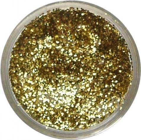 Glitter Gel - Yellow Gold 12Ml Fancy Dress - (Snazaroo)