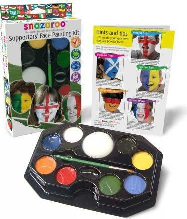 Sports/Football Supporters Face Painting Kit  (Snazaroo)