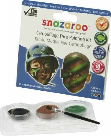 Camouflage Theme Pack (Snazaroo)