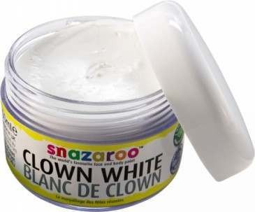 Clown White 50Ml. (Snazaroo)