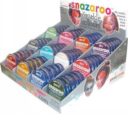 18Ml Sparkle Counter Disp (60) (Snazaroo)