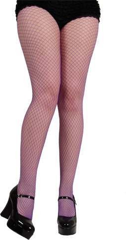 Ladies Micro Diamond Tights / Purple Tights - (Purple)