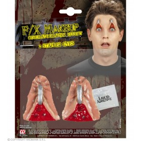 Horror Stapled Eyes Halloween Accessory