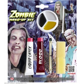 Zombie Make Up Kit Halloween Accessory
