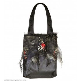 Ladies Zombie Handbag Halloween Fancy Dress Accessory