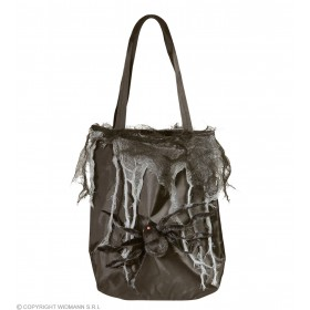 Ladies Spider Handbag Halloween Fancy Dress Accessory