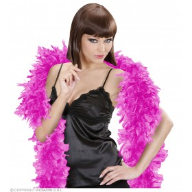 Feather Boa Small Magenta - Fancy Dress