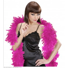 Feather Boa Small Hot Pink 180Cm - Fancy Dress
