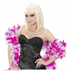 Feather Boa Bicolour 180Cm Purp/Lilac - Fancy Dress