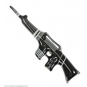 Inflatable Machine Gun 90Cm Fancy Dress Accessory