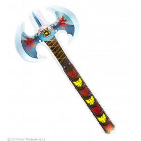 Inflatable Medieval Double Head Axe Fancy Dress Accessory