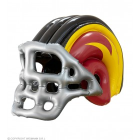Adult Size Inflatable American Football Helmet Fancy Dress Accessory