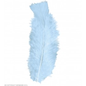 Bag Of Feathers Turquoise - Fancy Dress