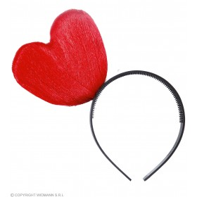 Heart Headbands - Red - (Red)