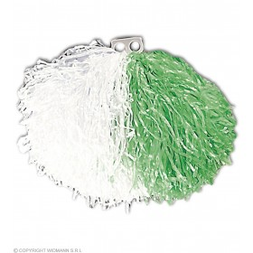 Pom Pom Green/White - Fancy Dress