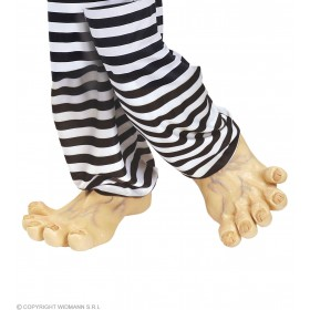 Giant Feet Latex Deluxe - Fancy Dress
