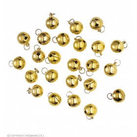 Decorative Bells 15Mm - Fancy Dress (Christmas)