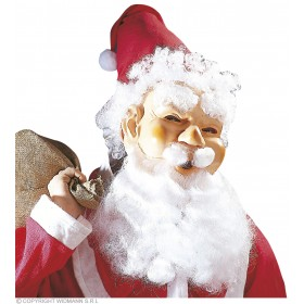 Santa Claus Mask Smiling - Fancy Dress (Christmas)