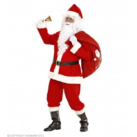 Santa Suit Super Deluxe Fancy Dress Costume (Christmas)