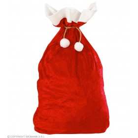 Velvet Christmas Sacks 60 X 100Cm - Fancy Dress (Christmas)