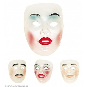 Transparent Face Mask - Fancy Dress