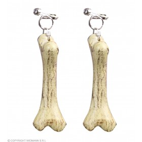 Bone Earrings - Fancy Dress