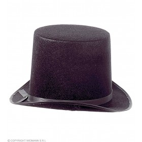 Top Hat Extra High Felt - Fancy Dress
