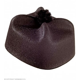 Parish Priest Hat Felt - Fancy Dress (Vicars/Nuns)