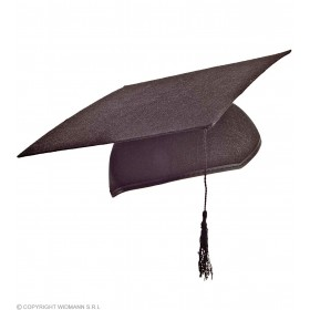 Graduation Hat In Felt - Fancy Dress