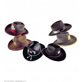 Felt Cowboy Hat 6Styles - Fancy Dress (Cowboys/Native Americans)