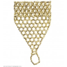 Fingerglove Beaded Gold - Fancy Dress
