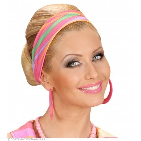 70S Headbands 4 Colors Asstd - Fancy Dress (1970S)