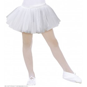 Child Size White Ballerina Tutus Fancy Dress Costume