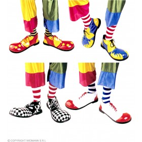 Clown Shoes Professional Rubber Sole - Fancy Dress (Clowns)