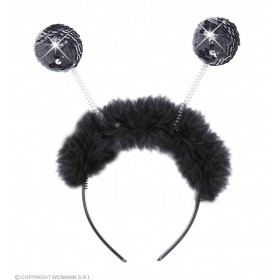 Girls Sequin Head Boppers - Black Accessories - (Black)