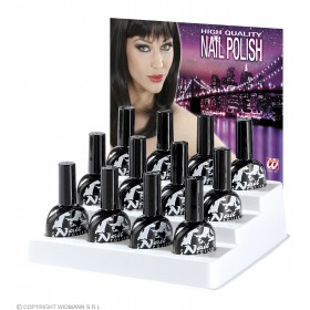 Nail Polish Black - Fancy Dress