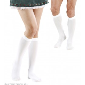 Under The Knee Socks - White - Fancy Dress