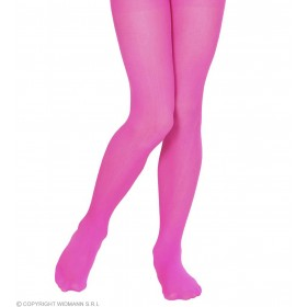 Pantyhose Child Sizes - Magenta - Fancy Dress Girls