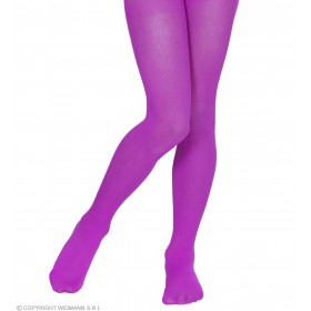 Pantyhose Child Sizes - Purple - Fancy Dress Girls