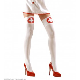 Xl Nurse Thigh Highs 70 Den - Fancy Dress (Doctors/Nurses)