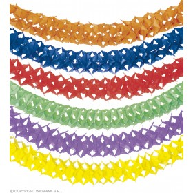 Unicolour Paper Garlands 4M - Fancy Dress